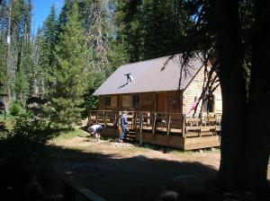 Cook cabin oblique front