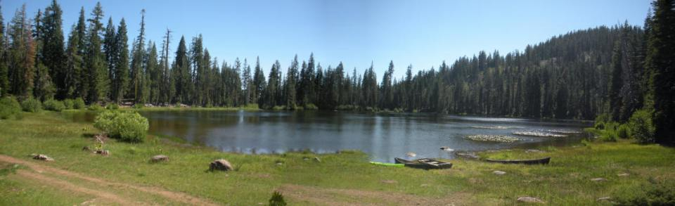 Panorama of McGowan Lake